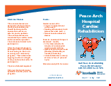 PDF Thumbnail for Peace Arch Hospital Cardiac Rehabilitation