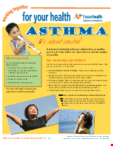 PDF Thumbnail for Asthma - It's About Control