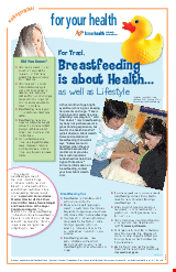 PDF Thumbnail for Breastfeeding is about Health