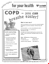 PDF Thumbnail for COPD - You Can Breathe Easier