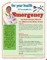 PDF Thumbnail for Emergency - Children (colour)