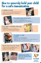 PDF Thumbnail for How to Hold Your Child During Immunization