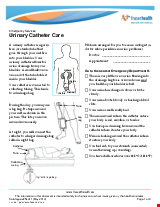 PDF Thumbnail for Urinary Catheter Care