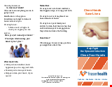 PDF Thumbnail for Clean Hands Save Lives - Help Fight the Spread of Infection