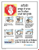PDF Thumbnail for Hand Washing