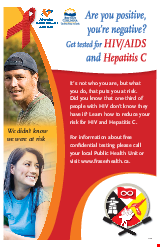 PDF Thumbnail for Are You Positive, You're Negative? - Aboriginal