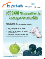 PDF Thumbnail for Healthy Living (colour)