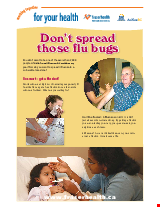 PDF Thumbnail for Don't Spread Those Flu Bugs
