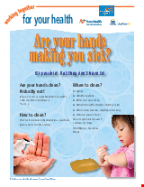 PDF Thumbnail for Are Your Hands Making You Sick (colour)?