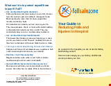 PDF Thumbnail for Your Guide to Reducing Falls and Injuries in Hospital
