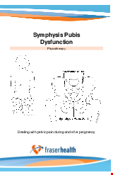 PDF Thumbnail for Symphysis Pubis Dysfunction (SPD)