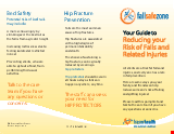 PDF Thumbnail for Your Guide to Preventing Falls and Related Injuries - Residential