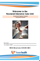 PDF Thumbnail for Welcome to the Neonatal Intensive Care Unit