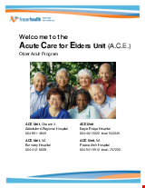 PDF Thumbnail for Welcome to ACE - Acute Care for Elders Unit