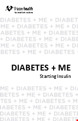 PDF Thumbnail for Diabetes + Me
