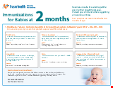 PDF Thumbnail for Immunizations for Children at 2 Months