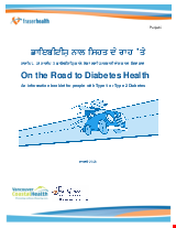 PDF Thumbnail for On the Road to Diabetes Health
