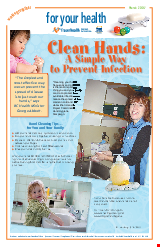 PDF Thumbnail for Clean Hands - A Simple Way to Prevent Infection (Large Poster)