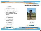 PDF Thumbnail for Pelvic Muscle Exercises for Men