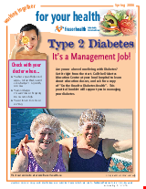 PDF Thumbnail for Type 2 Diabetes - It's a Management Job - Factsheet