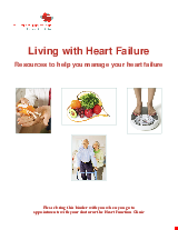 PDF Thumbnail for Living with Heart Failure - Package