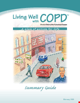 PDF Thumbnail for Living Well with Chronic Obstructed Pulmonary Disease - Summary Guide