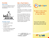 PDF Thumbnail for Products to help reduce falls and injuries in Long-Term Care