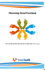 PDF Thumbnail for Choosing Good Footwear