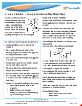 PDF Thumbnail for Urinary Catheter - Using a Combined Day-Night Bag