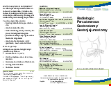 PDF Thumbnail for Radiologic Percutaneous Gastrostomy/Gastrojejunostomy