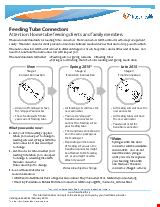 PDF Thumbnail for Feeding Tube Connectors