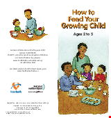 PDF Thumbnail for How to Feed your Growing Child Ages 2 to 5