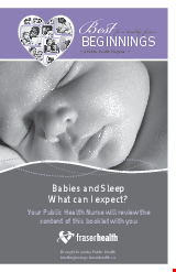 PDF Thumbnail for Babies and Sleep - What can I expect?