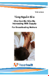 PDF Thumbnail for Increasing Milk Supply for Breastfeeding Mothers