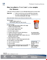 PDF Thumbnail for How to collect a 'First Catch' urine sample for Women
