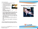 PDF Thumbnail for Chest Physiotherapy for Children
