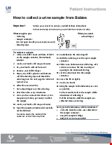PDF Thumbnail for How to collect a urine sample from Babies