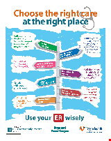 PDF Thumbnail for Use your ER Wisely (Small Poster)