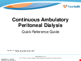 PDF Thumbnail for Continuous Ambulatory Peritoneal Dialysis (CAPD) Quick Reference Guide