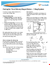 PDF Thumbnail for Caring for Your Urinary Bag at Home - 1 Bag System