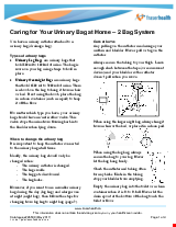 PDF Thumbnail for Caring for Your Urinary Bag at Home - 2 Bag System
