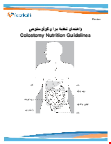 PDF Thumbnail for Colostomy Nutrition Guidelines