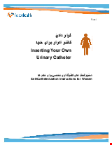 PDF Thumbnail for Inserting Your Own Urinary Catheter - Self-Catheterization Instructions for Women