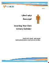 PDF Thumbnail for Inserting Your Own Urinary Catheter - Self-Catheterization Instructions for Men