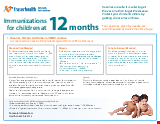 PDF Thumbnail for Immunizations for Children at 12 Months