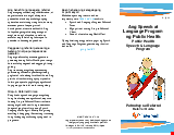 PDF Thumbnail for Public Health Speech & Language Referral Guide