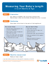PDF Thumbnail for Measuring Your Baby's Length 0 to 24 Months of Age