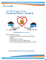 PDF Thumbnail for Your Heart Surgery Journey - Preparing While in Hospital
