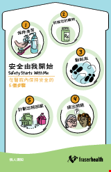 PDF Thumbnail for Safety Starts With Me: 5 STEPS to Keep Safe while in the Hospital (Pamphlet)