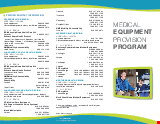 PDF Thumbnail for Medical Equipment Provision Program (MEPP)